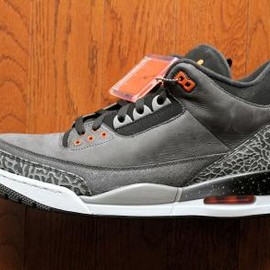 Nike - NIKE AIR JORDAN III RETRO NIGHT STADIUM/TOTAL ORANGE-BLACK