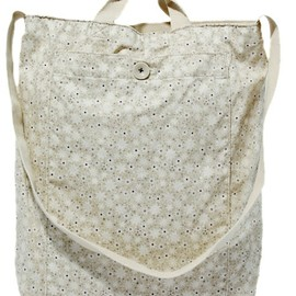 nonnative - DWELLER 2WAY SHOULDER BAG  COTTON MINI HERRINGBONE by LIBERTY