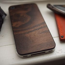 Wood iPhone Back Panel