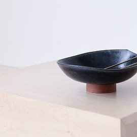 Mondays Projects - Footed Bowl: Blue, Tabletop, Mondays Projects, SPARTAN SHOP