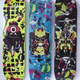 Supreme - The Ramm:Ell:Zee skateboard decks