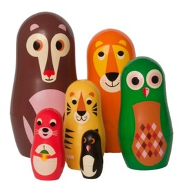 OMM-design - Ingela Arrhenius Matryoshka animal