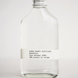 Kings County Distillery - moonshine corn whiskey 200ml