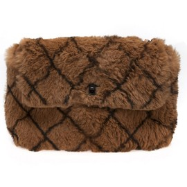 CHANEL - fur flap bag