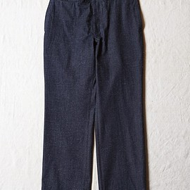 OLD JOE & CO. - EARLY KHAKI TROUSER (NEP INDIGO)