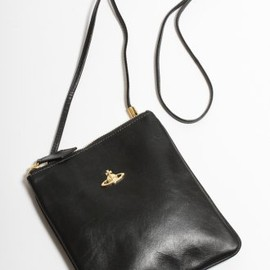 Vivienne Westwood - Memphis Square Leather Holdall in Black