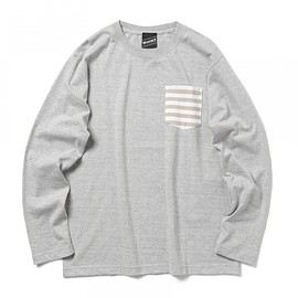 BEAMS T - 【SPECIAL PRICE】BEAMS T / BORDER ポケットロングスリーブ