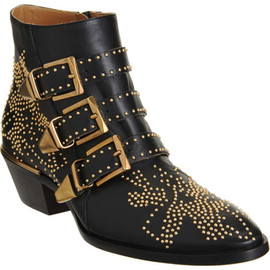 CHLOÉ - Susan Studded Ankle Boot