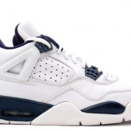 Nike - Air Jordan IV Retro white/columbia-blue/midnight-navy