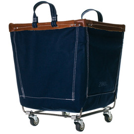Old Faithful Shop - Canvas Laundry Cart - Indigo