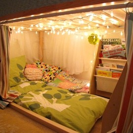 An Intimate Reading Fort