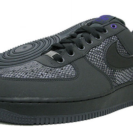 Nike - nike air force 1 low snake anthracite black 1 Nike Air Force 1 Low Snake   Anthracite   Black