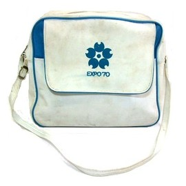 EXPO'70 - EXPO '70 大阪万博「ACE」エアラインショルダーバッグ Airline shoulder bag