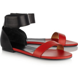 CHLOÉ Two- - Two-tone leather sandals