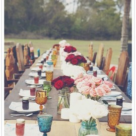 Bohemian/hippie wedding..