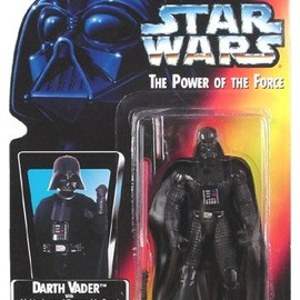 kenner - STAR WARS Power of the Force Darth Vader Action Figure
