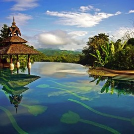 Golden triangle resort, Thailand
