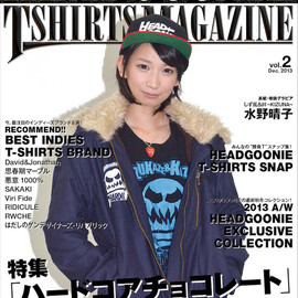 HEADGOONIE - HEADGOONIE T-shirts MAGAZINE vol.02