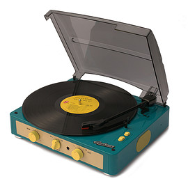 Gadhouse - Brad Record player (Built-In Bluetooth) (Green) - Gadhouse