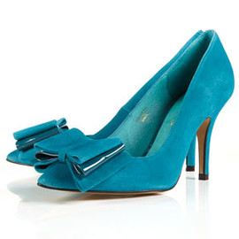 TOPSHOP - GAGGLE Triple Bow Court Shoes