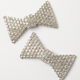ban.do - crystal bowtie shoe clips