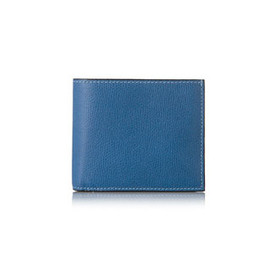 Valextra - Wallet 4cc with coin pocket