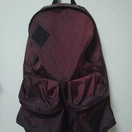 UNDERCOVER - 09 a/w print nit backpack