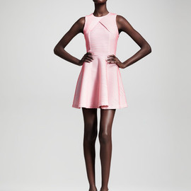 OPENING CEREMONY - Opening Ceremony Larson Striped Dress in Pink (ivory/blush strip) - Lyst