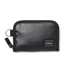 "HEAD PORTER - ""KRUGER"" WALLET (M) BLACK"