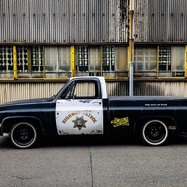 CHEVROLET - C10 California Highway Patrol