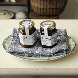 Hand Made by WENDY BRANDON PRESERVES - Orange Marmalade & Blackcurrant Jam