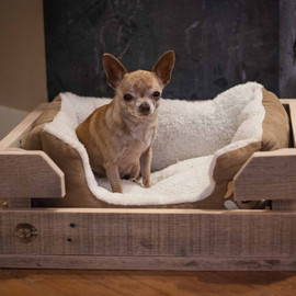 ReformedWood - Cozy Custom Crate for Your Dog Bed
