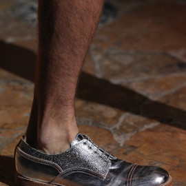 Acne - silver shoes