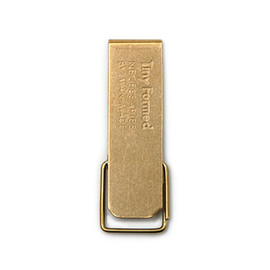 Tiny Formed - 「Tiny metal key clip」Brass