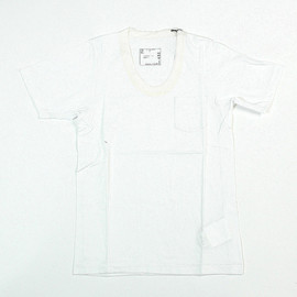 sacai - Basic U-neck Tee