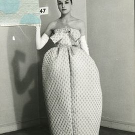 BALENCIAGA - Amphora dress, Summer collection 1959