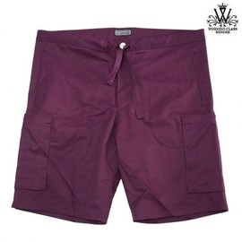 WORKING CLASS HEROES - COMFORT EASY 6P SHORTS (BURGUNDY)