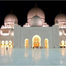 Abu Dhabi,UAE - sheikh zayed mosque