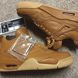 Jordan Brand - Air Jordan 4 Retro Premium - Ginger/Gum Yellow