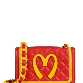 MOSCHINO - FW2014 CAPSULE COLLECTION QUILTED LEATHER BAG