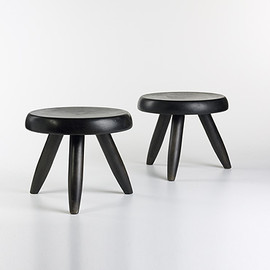 Charlotte Perriand - Wooden Stools