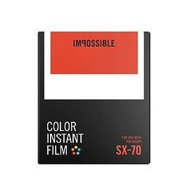 IMPOSSIBLE - COLOR FILM FOR SX-70