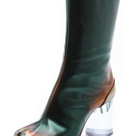 Maison Martin Margiela - Maison Martin Margiela Brushed Effect Tabi Boots