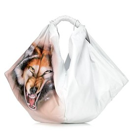 Maison Martin Margiela - Airbrushed Wolf Med. Sac Bag