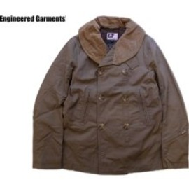 Engineered Garments - Engineered Garments Pea Jacket-Ripstop