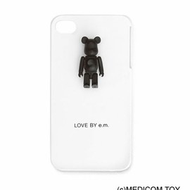 LOVE BY e.m. - BE@RBRICK iPhoneケース
