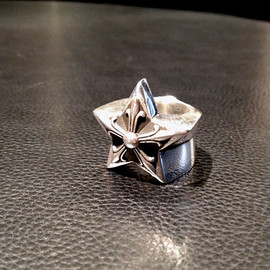 chrome hearts - LARGE STAR RING