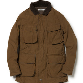 nonnative - RIDER JACKET COTTON WEATHER CLOTH PARAFFIN COATED