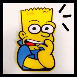 The Simpsons iPhone5,5s case