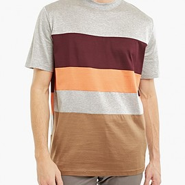 LANVIN - Striped Cotton T